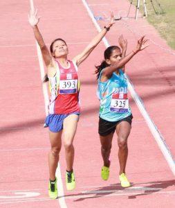 Santoshi Sreshta running champion empowering women